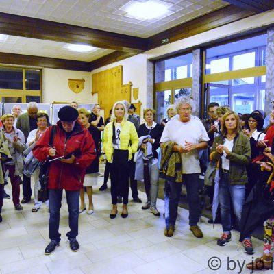 Offizielle Eröffnung im Kulturhaus