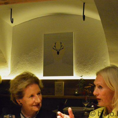 Luzie Pinkas in der Weinzeit