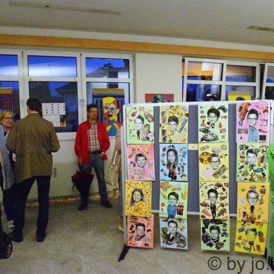 Ausstellung der Arbeiten der NMMS