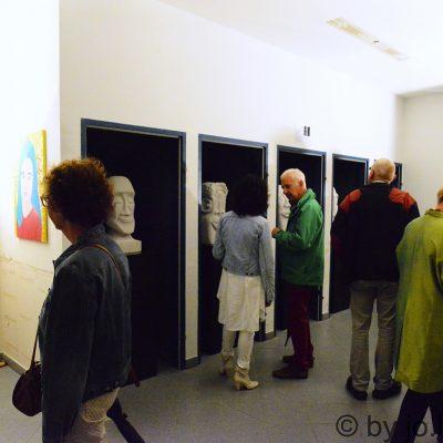 Ausstellung in der ehemaligen Post