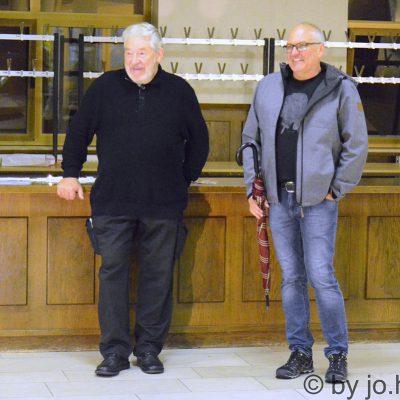 Gerhart Weihs und Wolfgang Daborer stellten Werke zur Verfügung